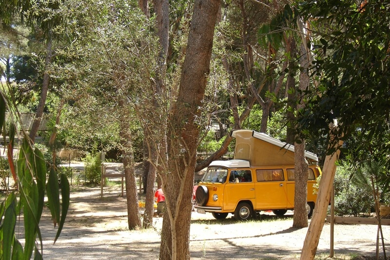 Camping Giens Staanplaatsen Camping Olbia